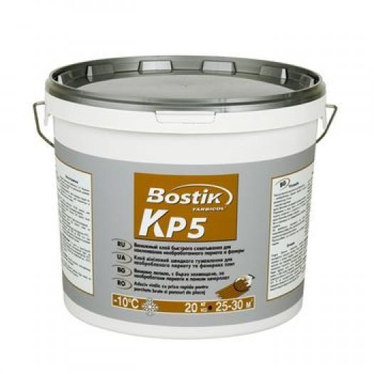 Виниловый клей быстрого схватывания для паркета BOSTIK КР5. 6кг