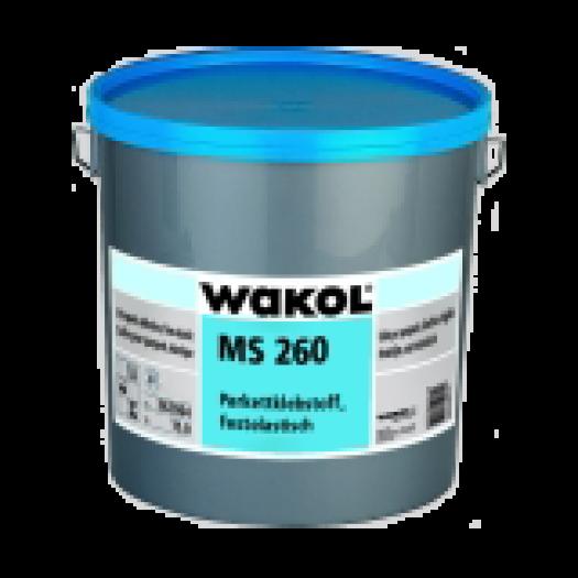 Жесткоэластичный клей для паркета на основе MS полимеров WAKOL MS260