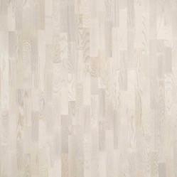Паркетная доска Polarwood Ясень Тренд белый