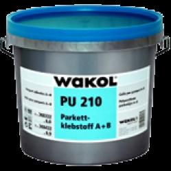 Двухкомпонентный полиуретановый  клей для паркета WAKOL PU210